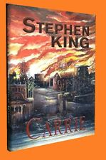 STEPHEN KING  212 / 974 CARRIE Signed Slipcased Anniversary Editions NEW SEALED!