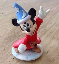 "VINTAGE WALT DISNEY MICKEY MOUSE Wizard Figure FANTASIA Sorcerer 4"" Figurine"