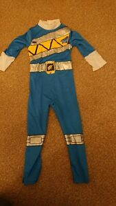 Blue Power Rangers Dino Charge Costume Age 5-6