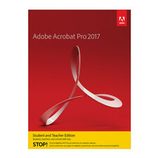 Adobe Acrobat Pro 2017 für Windows [Student & Teacher]