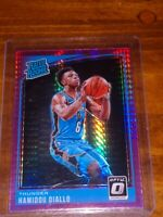 Hamidou Diallo 2018-19 Donruss Optic Rated Rookie Pink Prizm Refractor Thunder