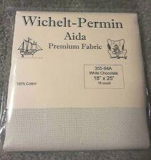 We The People Preamble Cross Stitch Fabric 14 Aida 18 X 26 Mirabilia Exclusive
