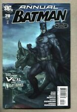 Batman Annual #28-2011 nm- Nightrunner / The Veil Trevor McCarthy David Hine