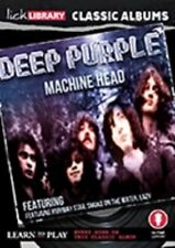 LICK LIBRARY CLASSIC ALBUMS DEEP PURPLE MACHINE HEAD LEARN TO PLAY GUITAR DVD