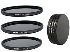 Haida ND graufilterset nd8x, nd64x, nd1000x - 52mm incl. Stack Cap