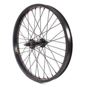 "KHE 18 "" BMX Front Wheel Black BIG400 Aluminium Rim 36 Hole 10mm Precision Hub"