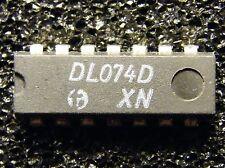 20x DL074D (=74LS74) Dual D-Type Flip Flop, HFO