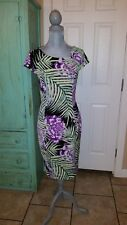EVA-MENDES, SLEEVELESS, FULLY LINED, SHEATH TYPE DRESS, SIZE 4