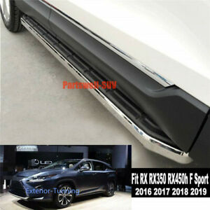 Running Board fits for Lexus RX RX350 RX450h F Sport 2016+ Side Step Pedal Bar