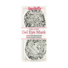 Spa Bella DELUXE GEL EYE MASK WARM or COLD RELIEF Sleeping Migraine Headaches