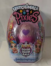 Hatchimals Pixies Royal Snow Ball New Damaged Packaging
