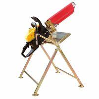 Sägebock Holzsägebock mit Halterung für Brennholz für Benzin Elektro Kettensäge