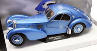 Solido 1/18 Scale S1802102 - Bugatti Type 57 SC Atlantic - Metallic Blue