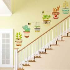 Wall sticker adesivo PIANTA piante APE api parete muro cameretta bambino scale