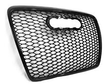 Grill RS6 Typ Schwarz Glanz Audi A6 S6 C6 4F 2004-2011 Wabengrill Frontgrill