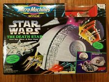 Star Wars 'The Death Star' Vintage Galoob Micro Machines Playset New in Box!