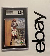 Michael Jordan SGC 9.5 Fleer Ultra Famous Nicknames Man Cave Collector Card 1993