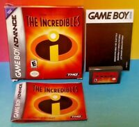 The Incredibles Disney - Game Boy Advance - Complete Box Tested Nintendo