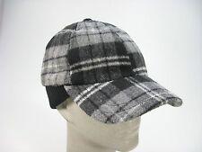 Converse One Star Black & White PLAID Cap / Hat - New w/ Partial Tags