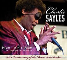 Charlie Sayles - Night Aint Right [CD]