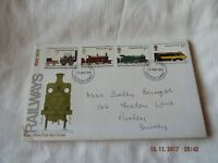 POST OFFICE FIRST DAY COVER RAILWAYS