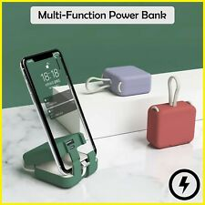 Multi-Function Power Bank With Own Cord Handbag Back Clip