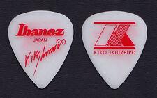 Megadeth Kiko Loureiro Signature White Guitar Pick - 2015 Tour