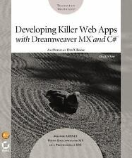 NEW - Developing Killer Web Apps with Dreamweaver MX and C#