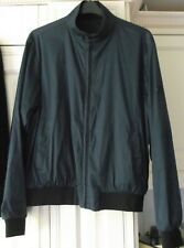 "DKNY Blue/Black Reversible Jacket One Side Shower Proof Size L -46"" chest - NEW"