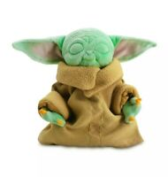 Star Wars Mandalorian The Child - Baby Yoda Plush Toy Zen Pose, Series 4/4 ~ New