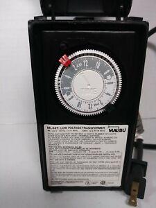 Malibu Intermatic ML44T 44 Watt Low Voltage Landscape Lighting Transformer/Timer