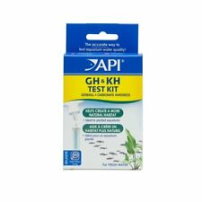 API GH & KH Water Test Kit Individual Aquarium General Carbonate Freshwater Fish