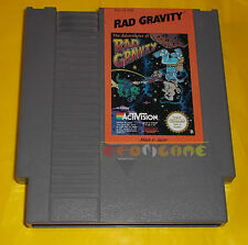 THE ADVENTURE OF RAD GRAVITY  Nintendo Nes Versione PAL B ○○ SOLO CARTUCCIA AJ
