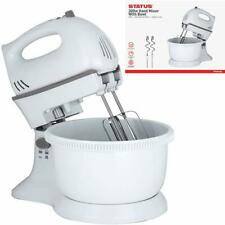 5 Speed + Cake Electric Stand Mixer Food Multi Mixing Bowl Blender Beater Dough