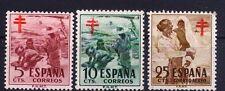 Edifil 1103/1105**  Pro Tuberculosos  1951   Serie completa  NL271