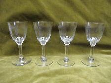 4 verres à porto cristal de baccarat Molière (Baccarat portowine glasses)