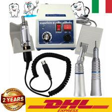 Dental Micromotore 35k RPM Polisher odontotecnico+2x manipolo Handpiece Dentista