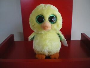 Ty Beanie Boos NUGGET the chick 6 inch NWMT. New Easter Exclusive.