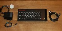 Sinclair ZX Spectrum 128K Toastrack. Fully working.