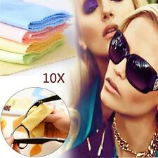 10x Microfiber Phone Screen Camera Lens Glasses Cleaner Cleaning Cloth Duster MT