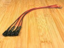 4 BBT 12 volt Green LED 6mm Indicator Lights