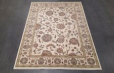 CHINESE,TRADITIONAL, FLORAL RUG, 227 x 162CM,IVORY,BURGUNDY,GREEN,
