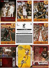2013-14 Panini NBA Hoops Miami Heat Hobby Master Team Set w/ Inserts (19)