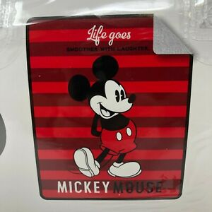 Disney Mickey Mouse 'Life Goes Smoother' Baby Sherpa Throw 50 in x 60 in