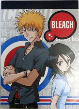 Bleach Ichigo and Rukia Shonen Jump Mini Note Pad Anime NEW