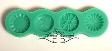 SUGAR Craft Regal Stampo COCCARDE CUORE PULSANTE vintage decorazione per torta in silicone