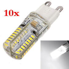 10x (10x G9 3w 64 LED 3014 SMD Pure White Energy Saving Spotlight Lamp Bulb 2 DP
