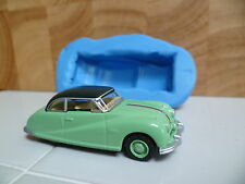 3D CLASSIC CAR AUSTIN ATLANTIC SALOON SILICONE MOULD FOR CAKE TOPPERS, CHOC ETC