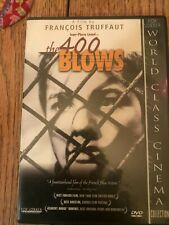 Dvd the 400 blows F.Truffaut French new wave world class cinema series 1959