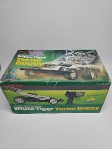 Vintage Radio Shack Buggy RC White Tiger Turbo 15 made in Japan Rare With Box